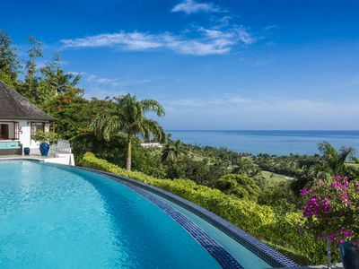 Anticipation Villa's spectacular Infinity Pool with Ocean View