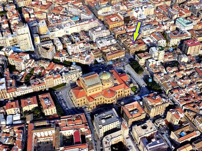 Photo for Apartment facing the Teatro Massimo   Parking - Air Conditioning - WiFi