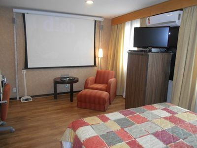 Photo for APTO 1 DORM (SUITE) TYPE FLAT - CINEMA TELEVISION / PROJECTOR, DVD AND HOME CINEMA