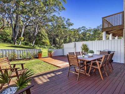 Photo for A bushland duplex with air conditioning, three bedrooms, bbq, secure parking.