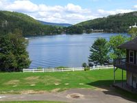 Great location, on the lake, huge amount of land and space