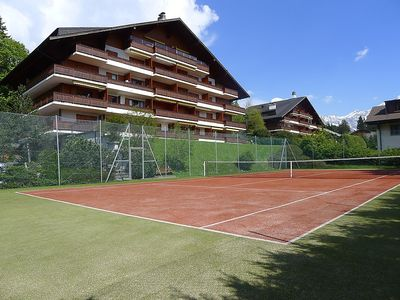 Photo for Apartment in Villars-sur-Ollon with Lift, Parking, Washing machine, Pool (36947)