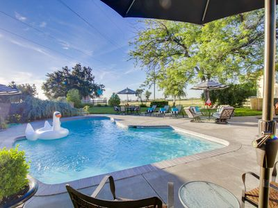 Photo for Suncrest Pool House in Wine Country