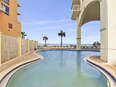Cool Off - You'll love resorting to the refreshing waters of the community pool after a long day of fun in the sun! Celadon Beach Resort has everything you will need to enjoy your vacation in Panama City Beach.