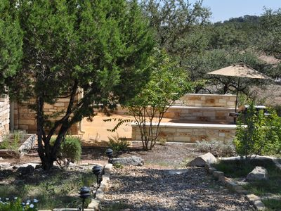 Photo for 4-bedroom, 2 bath with pool/spa private oasis on 6 acres outside of Austin