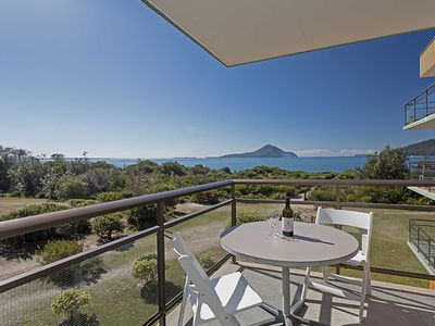 Photo for 10 'Intrepid' 3 Intrepid Close - water views over Shoal Bay Beach