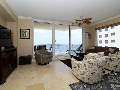 Photo for Indigo East 1206- Beautiful 4 Bedroom with AMAZING Gulf Views!