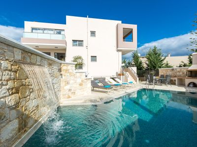 Photo for Peris 2 Luxury Villa In Chania, Private Pool, 1km From The Beach