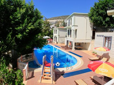 Photo for Villa Xanthos: Swimming Pool, Walk to Beach, A/C, WiFi, Car Not Required