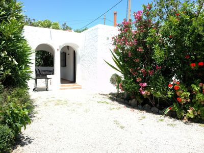 Photo for CASA BERILO 52 m² with pool, bike, kayak, safe and internet WIFI.