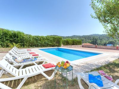 Photo for This 4-bedroom villa for up to 8 guests is located in Lloret De Mar and has a private swimming pool,
