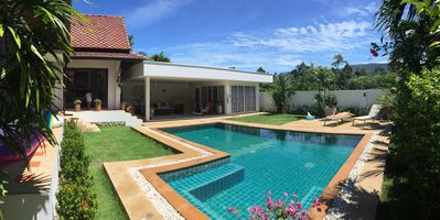 Photo for BAAN BOO Villa in a coconut grove, Zen and tranquility assured 300m from the beach