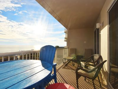 Photo for Amazing Ocean View - Platinum Upgraded Beachfront Condo - Bch Serv Incl - Sp305