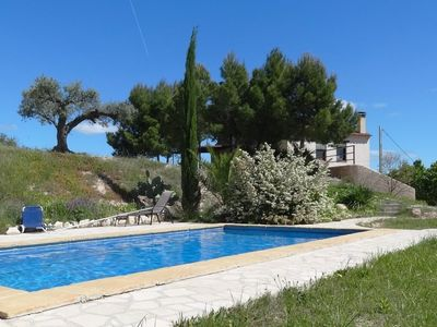 Photo for Mas de Xim, large farmhouse with swimming pool, near Miravet