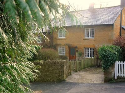 Photo for Jackdaw Cottage is a charming honey-coloured traditional Cotswold cottage in the village of Blockley