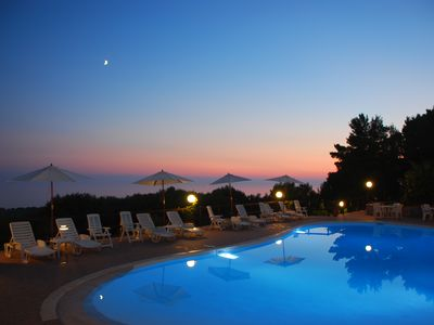 Photo for Among the green Mediterranean with stunning sea views -