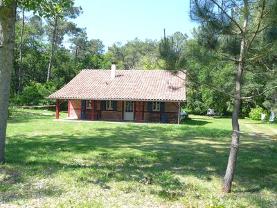 Photo for Landes nice house, 3 km from the beach, quiet, forest, pretty place