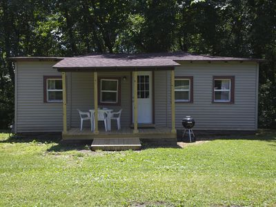 Photo for Western Cottage - Lakefront Cottages on Semi-private Lake, Beach, Boats, Fun!