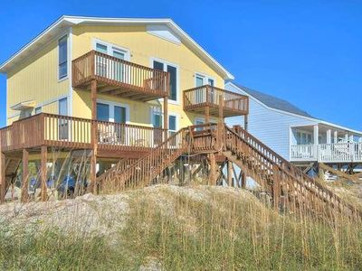 Photo for Just You & The Beach-Beautiful 2 Story-Oceanfront 4 BR/3 BA Beach Home-Sleeps 12