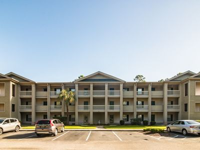 Photo for 1st Floor Condo True Blue Golf/Tennis/Pool Accessible Close to Beach 54D