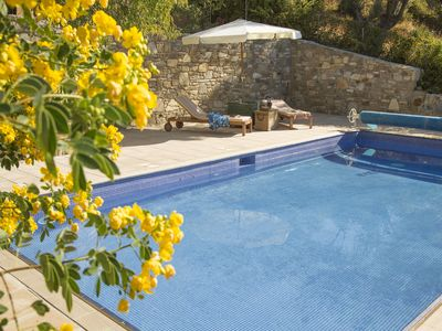 Photo for Beautiful Family Villa With Heated Swimming Pool And Stunning Sea/Mountain View