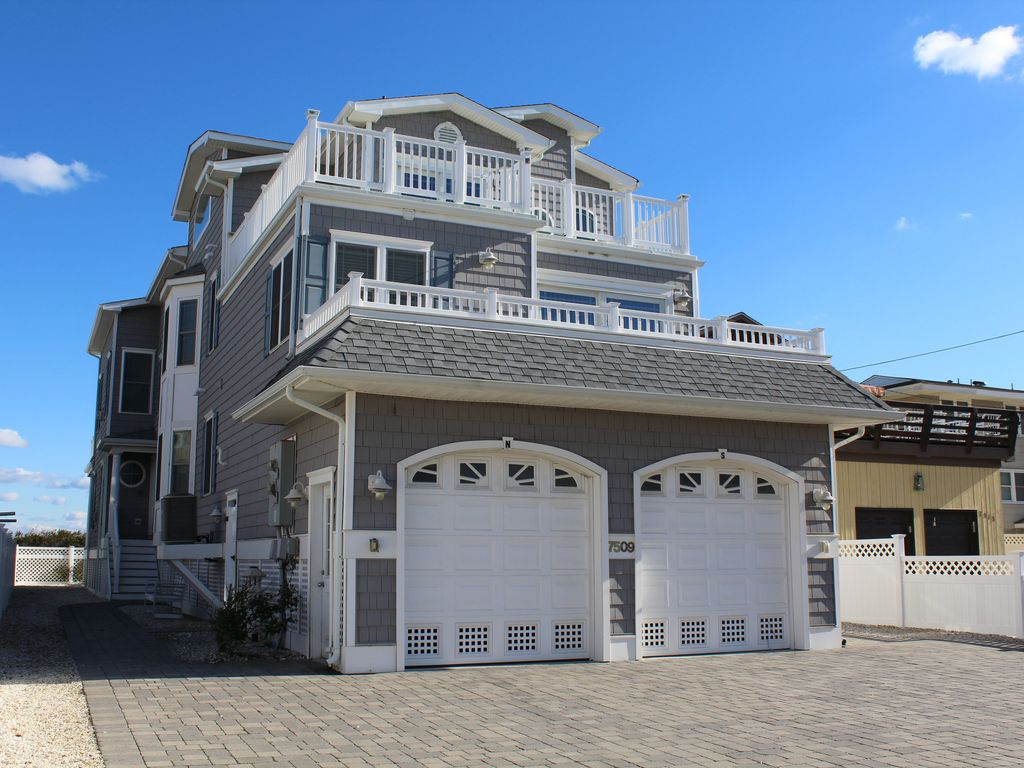pleasurable exterior beach house colors. Main exterior view of the house from Pleasure Avenue Beach Front In Sea  Isle City Gorgeous Sp VRBO The Best 100 Pleasurable Exterior House Colors Image