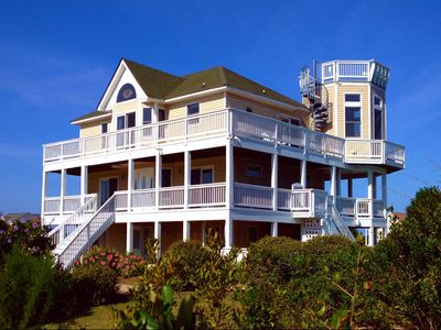 Photo for Direct Beach Access w/ 360° Views!  Upscale, Sun & Fun!  Now Renting 2020!