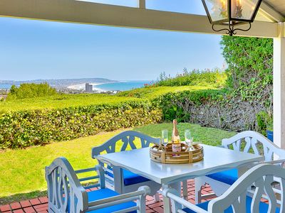 Photo for Seaclusion: 3BB-2BA ocean view vacation rental perched high above the Pacific on a quiet cul de sac