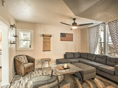 Photo for NEW! Wallace Home w/Game Table < 1 Mi to Downtown!