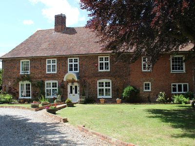 Photo for Molland Manor House 10 bed 9 bathroom 16 WC 's Some outside