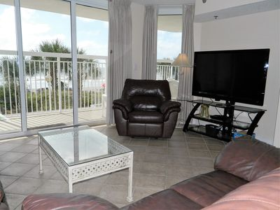 Photo for LUXURY AWAITS!  CRESCENT SHORES 3/3 OCEAN FRONT. SUN, SURF & SAND!