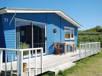 Photo for Cosy family beach chalet within minutes of some of the UK's finest beaches.