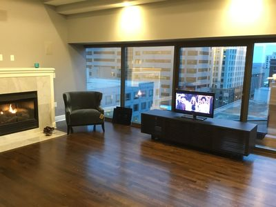 Photo for Furnished 2-bedroom KC Downtown Condo includes Gas/Water, Wifi + Parking