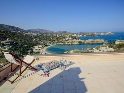 Photo for Villa Sunny Dreams - Seaview Ligaria Heraklion Crete