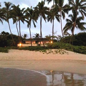 Photo for Oceanfront-Private, Gated, on White Sand Beach-Plumeria Suite