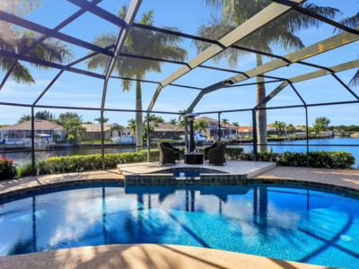 Photo for Casa Bellissima - Gorgeous pool home with Gulf access