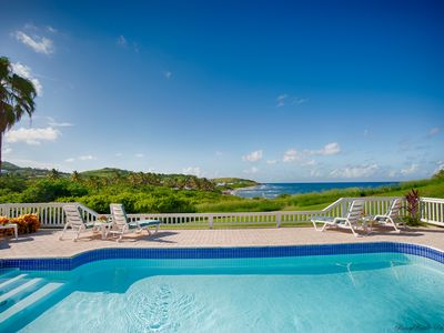 Photo for Ocean view-private pool- Watch Virtual Tour