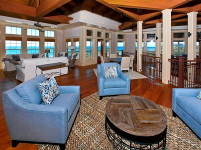 A Wave From It All, Santa Rosa Beach, FL   Open Living Area With