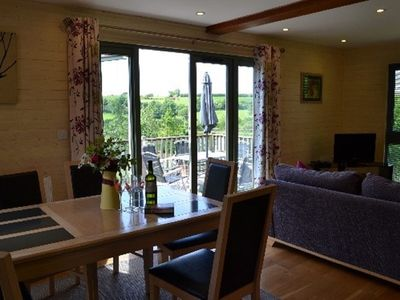 Photo for Foxglove Lodge - a lovely lodge set in 19 acres and only 8 miles from Bude beach