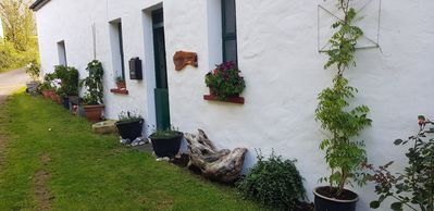 Photo for cosey country cottage in rural village location close to beach and golf club