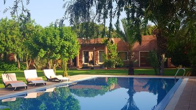 Photo for Luxury villa with private pool route de lalla takerkous