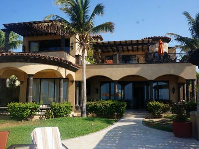 Photo for Magnificent Oceanfront Home in Gated Community Overlooking Quivira Golf Course