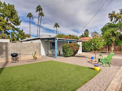 Photo for NEW! Pet-Friendly Phoenix Studio w/ Yard & Grill!