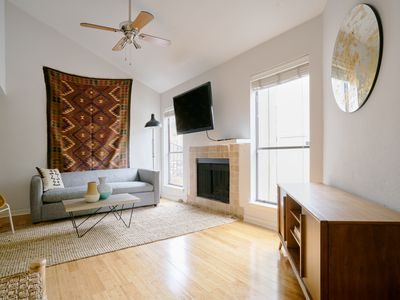 Photo for Sonder | Bouldin Townhouse | Cozy 2BR + Patio