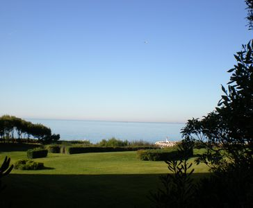 Photo for Pleasant T2, in a large private domain, 100m from the sea ...