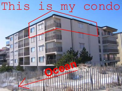 #1 66th Street Ocean Front Condo - Corner Unit - Ocean on 2 sides - Easy Access