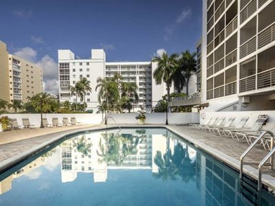Photo for Le Frontenac 204 - Condo 4 people, Sunny Isles