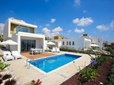Photo for Luxury and Spacious 2 bedroom Villa in Paphos with Private Pool