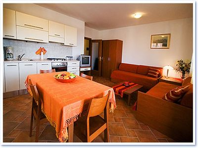 Photo for Apartment 236 m from the center of Rovinj with Internet, Air conditioning, Parking, Balcony (641909)