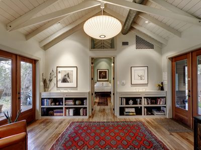 Photo for A peaceful and romantic architectural gem (Dripping Springs - Austin)